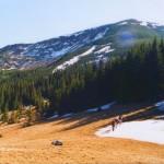Вид с горы Добошанка на г.Долгая