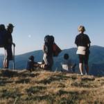 Вид с горы Плоская